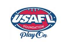 USAFL Foundation Play On Logo