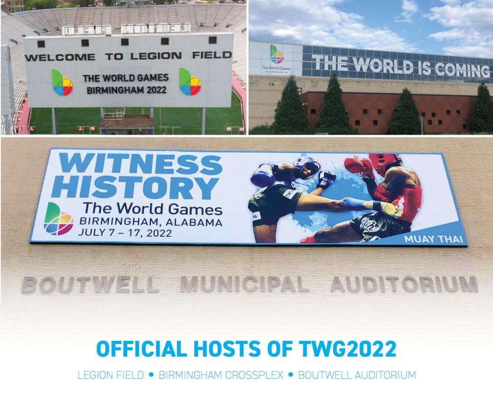 Three Competition Venues Announced for The World Games 2022