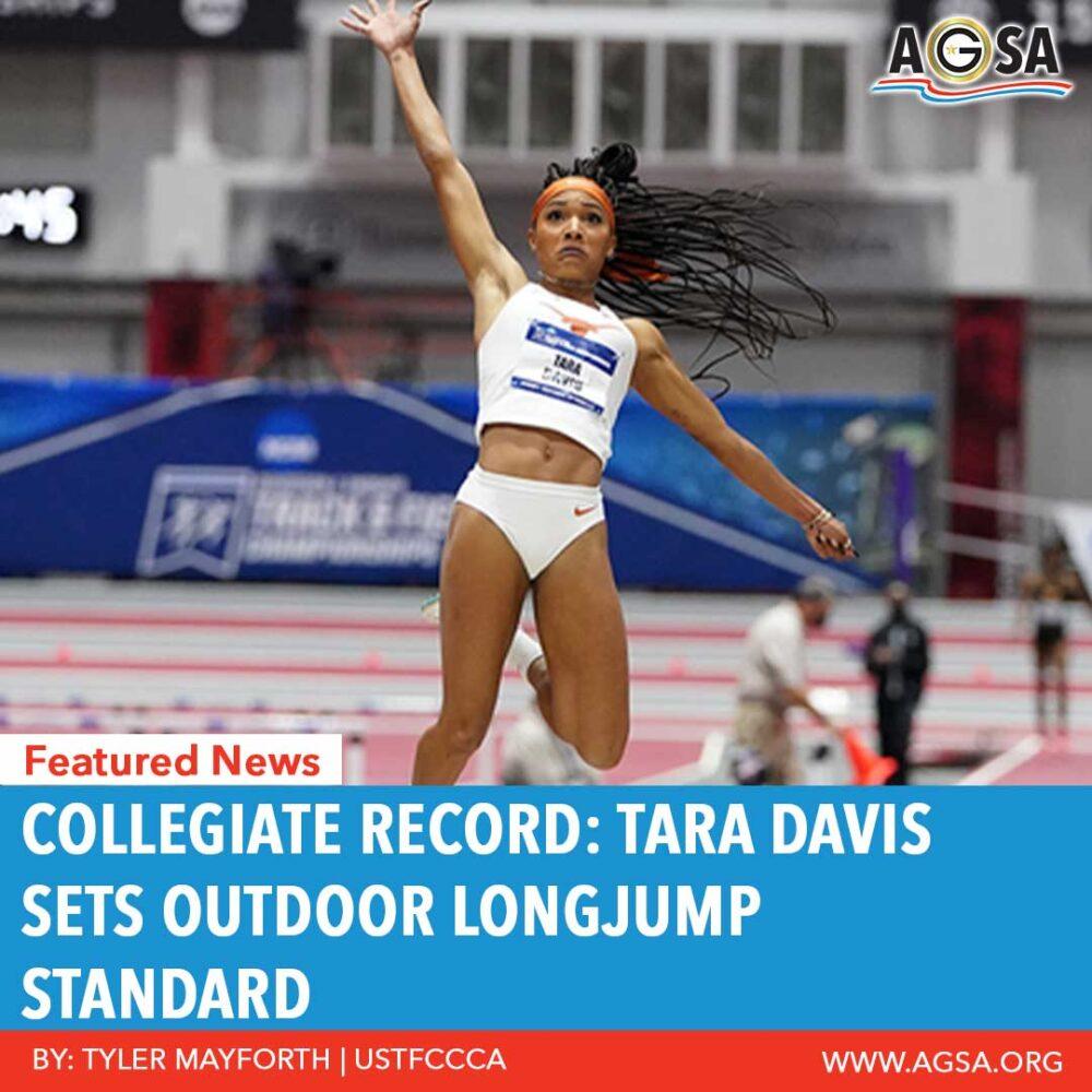 Tara Davis Jumping
