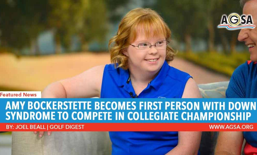 Amy Bockerstette Becomes First Person with Down Syndrome to Compete in Collegiate Championship