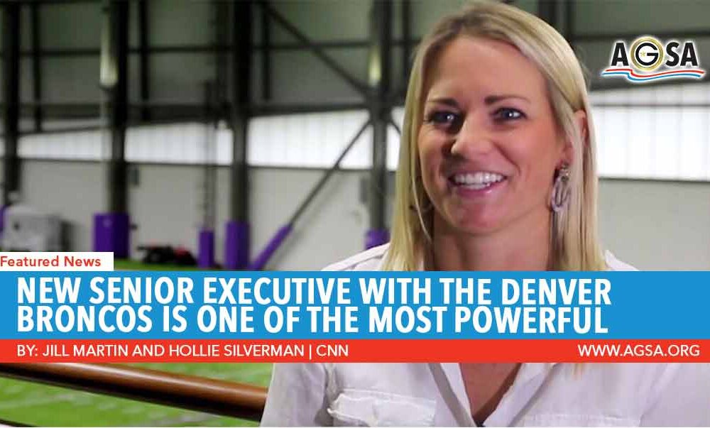 New Senior Executive With the Denver Broncos is One of the Most Powerful Women in the NFL