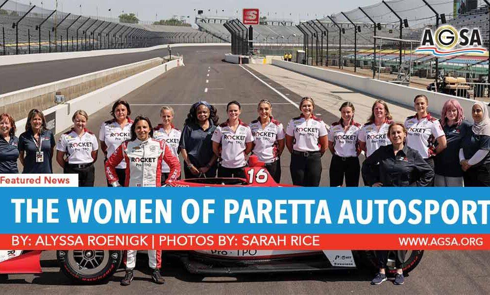 THE WOMEN OF PARETTA AUTOSPORT