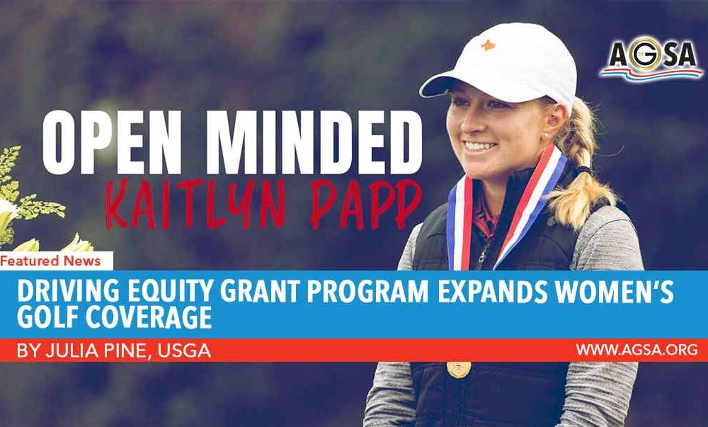 Driving Equity Grant Program Expands Women's Golf Coverage