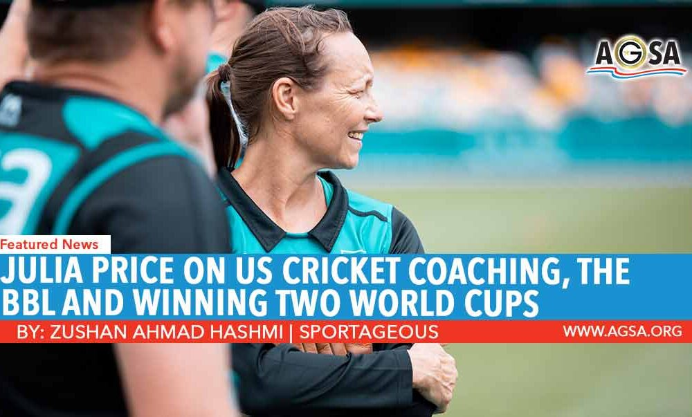 Julia Price- US Cricket Coach
