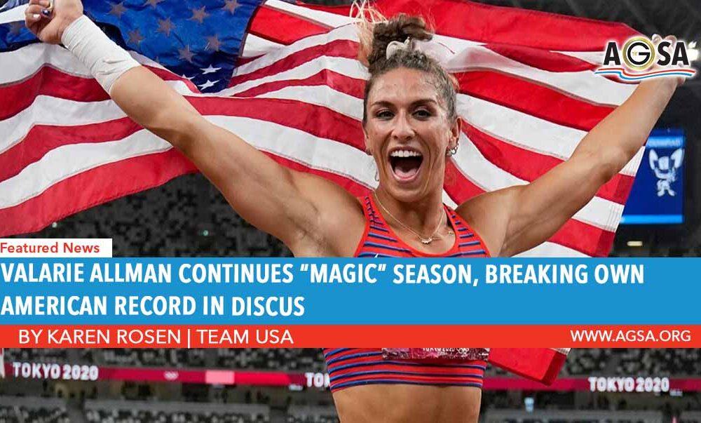 Valarie Allman continues Magic Season