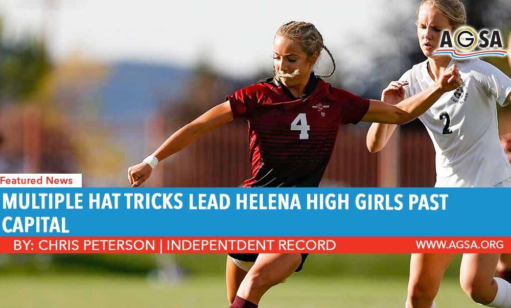 Multiple Hat Tricks Lead Helena Girls Past Capital
